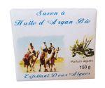 Soft soap exfoliant & organic Argan oil and Algae 150 G