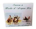 Soap with organic Argan oil & flower of coton