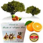 Savon à l huile d Argan Bio  orange douce Brésil 150 g