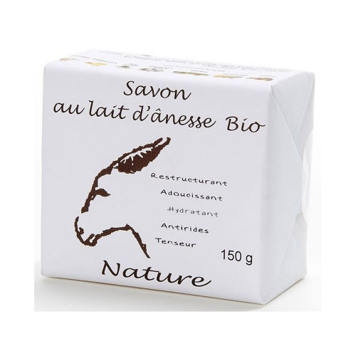 savon au lait d ânesse bio nature 150 g