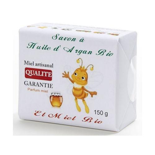 Savon à l huile d argan bio et miel bio 150 gr