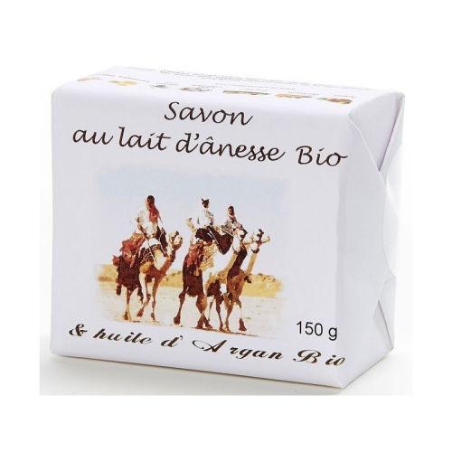 Savon au lait d ânesse  bio & huile d Argan bio 150 g