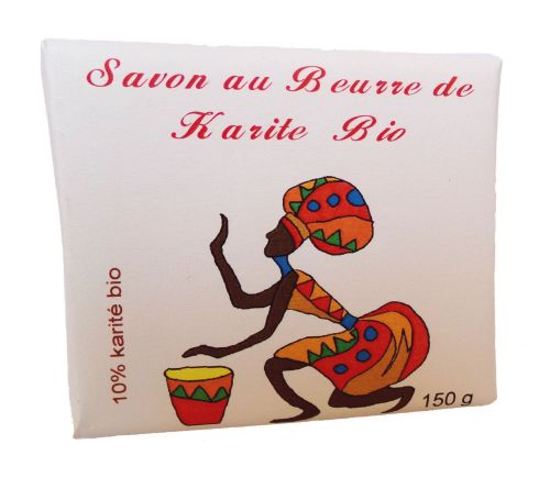 Soap with organic shea butter (10%) 150 g