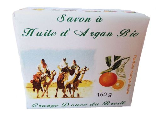 Soap with organic argan oil & sweet orange Brazil 150 G
