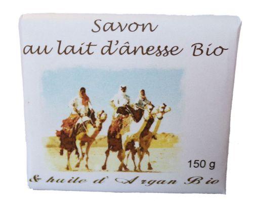 Soap with organic donkey milk and  organic Argan oil 150 g