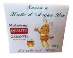 Soap with organic Argan oil & organic honey 150g