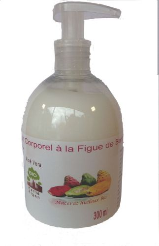 Lait corporel à la figue de barbarie (macerat) 300 ml bio